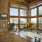 mountain magic luxury dream home master bath