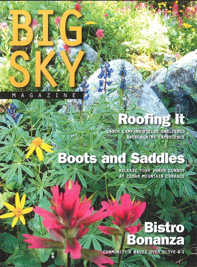 Big Sky Magazine Summer 2012 Cover