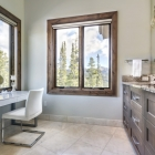 Diamond Hitch Mountain Modern House Master Bathroom
