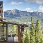 Diamond Hitch Mountain Modern House with View