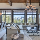 luxury mountain house Living Area (5)
