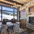 luxury mountain house Living Area (2)