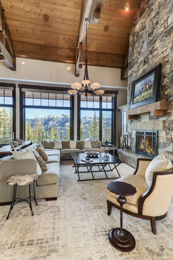 great rooms to dream about inspiration for big sky custom homes