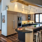 white otter custom home builder remodel modern kitchen