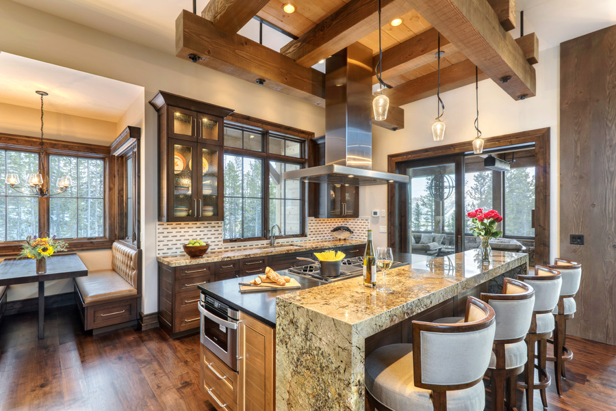 Kitchens and Dining Rooms for Luxury Mountain HomesBlue ...
