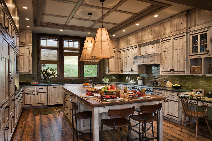 Kitchens and Dining Rooms for Luxury Mountain HomesBlue Ribbon Builders