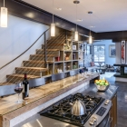 Custom Mountain Modern Home Kitchen