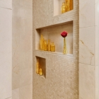 Custom Mountain Modern Home Shower Shelf