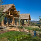 Madison Valley Ranch - Back View
