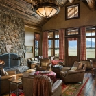 Madison Valley Ranch - Great Room