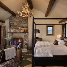 Madison Valley Ranch - Master Bed Room