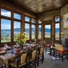Madison Valley Ranch - Dining Room