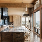 Madison View mountain contemporary dream kitchen