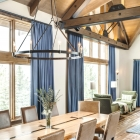 Gambler timber frame dining room
