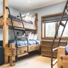 Gambler timber frame guest room bunk beds