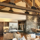 Gambler timber frame kitchen dining room