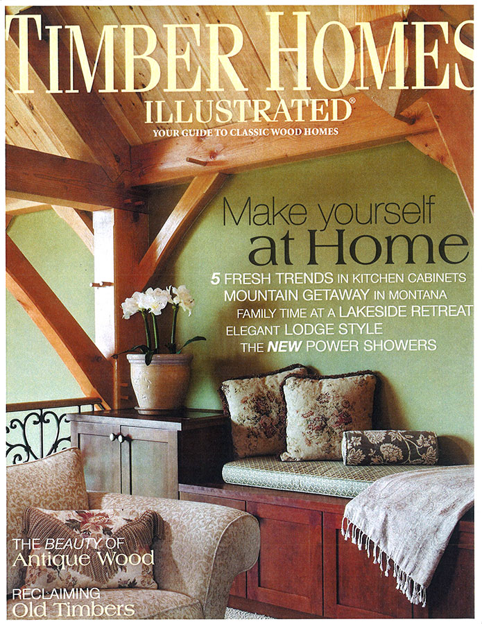 Timber Homes Illustrated - June 2007 - Cover