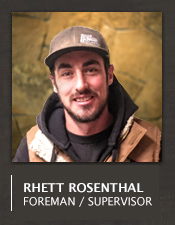 Rhett Rosenthal Construction Foreman Jobs Big Sky Montana
