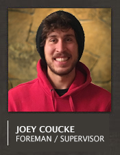 Joey Coucke Construction Foreman Jobs Big Sky Montana